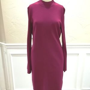 Etcetera pink sweater dress